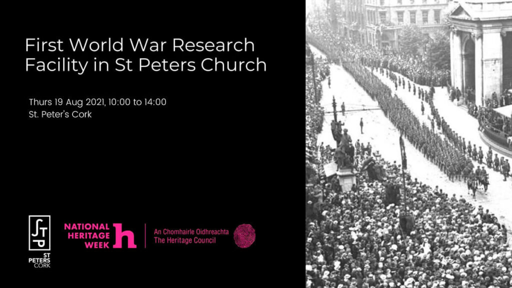 First World War Research Facility in St Peters Church